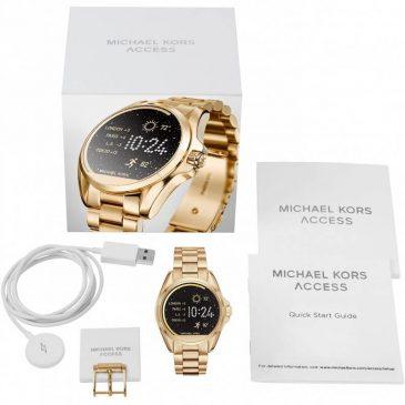 Wi Fi tecnología Michael Kors MKT5001 2018 smartwacht reloj