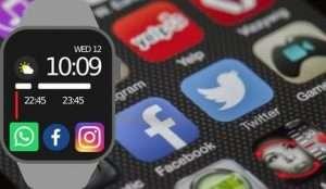 Relojes Inteligentes con Redes Sociales 2019 - 2020