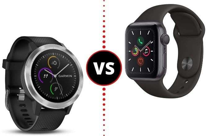 Apple Watch 4 VS Garmin Vivoactive 3