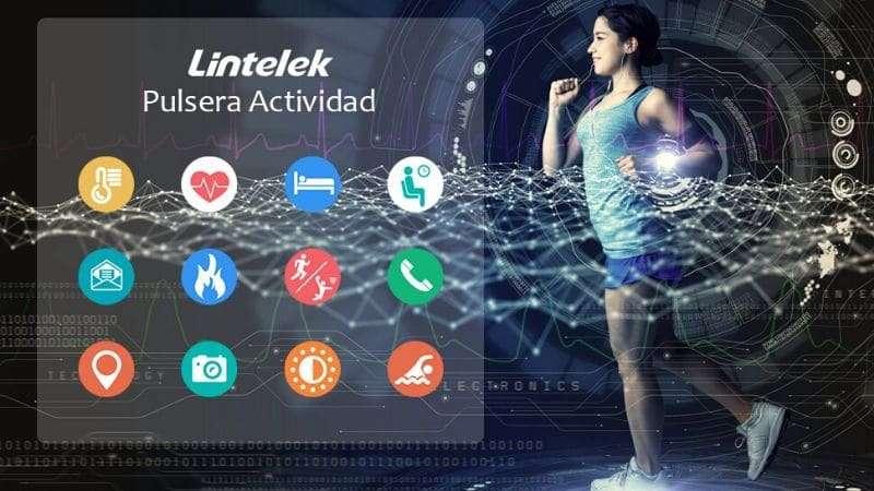 Pulsera de Actividad Lintelek