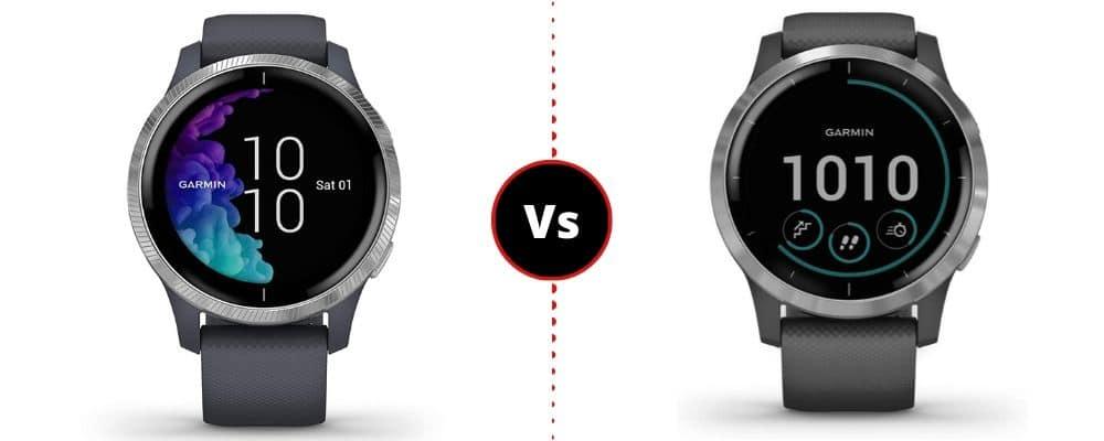 Garmin Venu vs Garmin Vivoactive 4