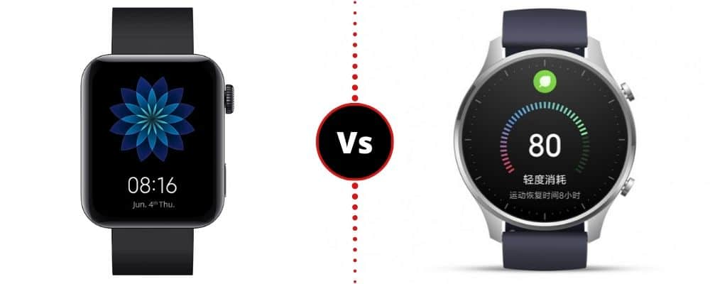 Xiaomi Mi Watch VS Xiaomi Mi Watch Color
