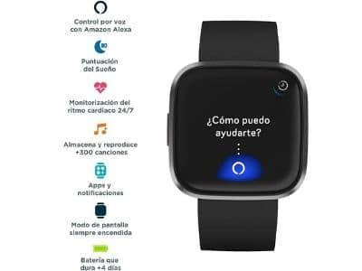 Funcionalidades del Fitbit Versa 2