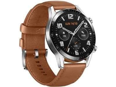 Huawei Watch GT 2 del lado izquierdo