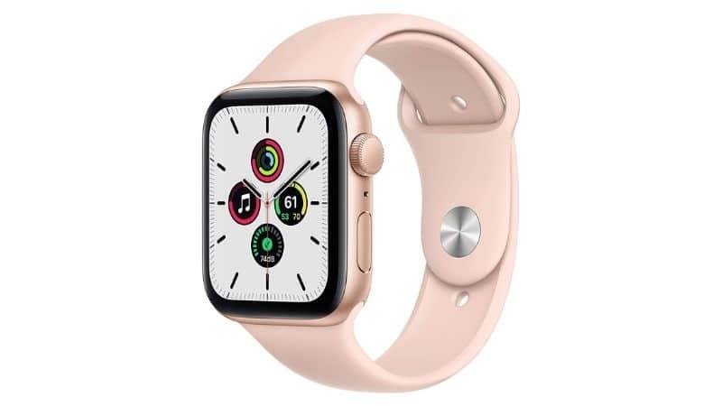 Apple Watch SE color rosado