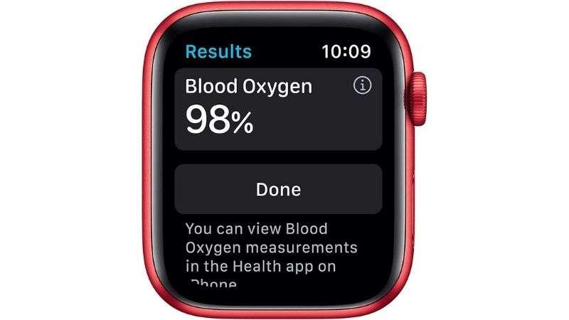 Apple Watch Series 6 Medidor de Oxigeno