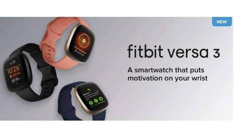 Fitbit Versa 3 Pantalla