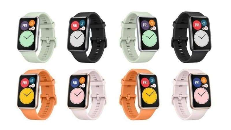 uawei Watch Fit Interfaces