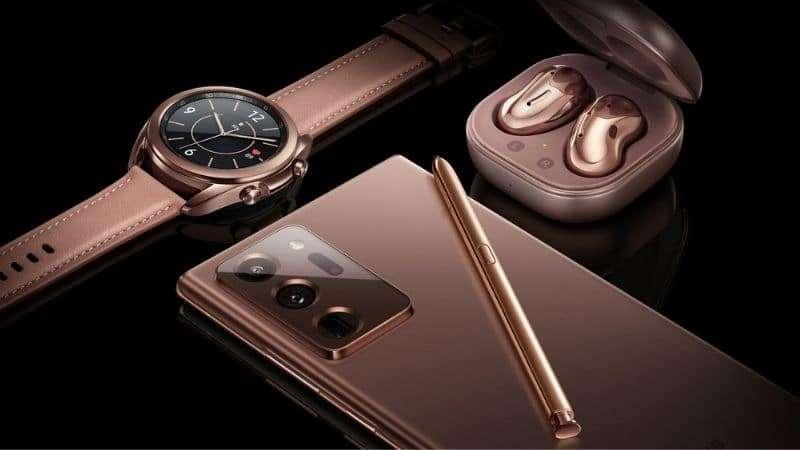 Samsung Galaxy Watch 3 con Móvil y Auriculares