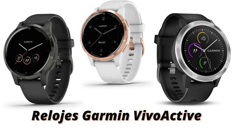 Relojes Garmin Vivoactive