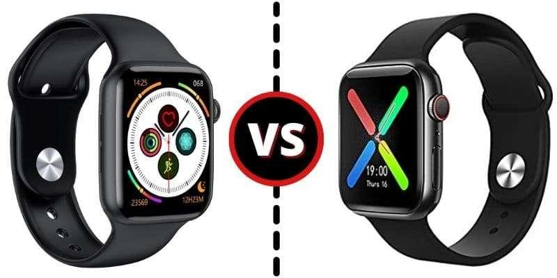 Smartwatch T500 VS Iwo W26