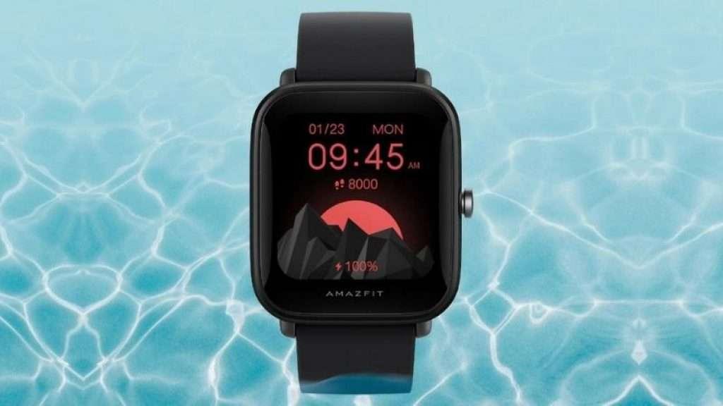 Amazfit Bip U Pro - natación