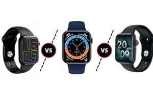 Smartwatch HW12 vs Smartwatch HW16 vs Smartwatch HW22
