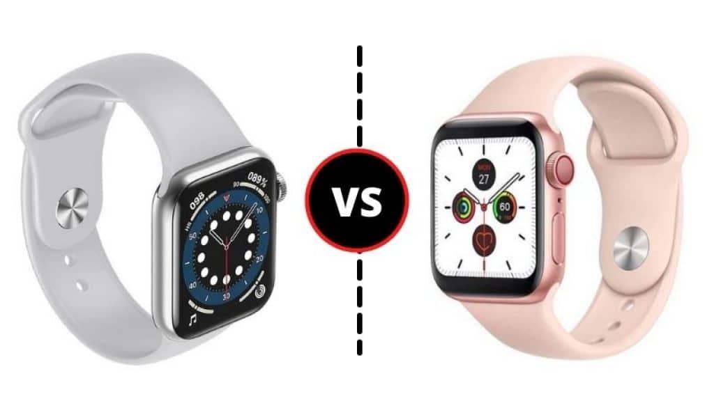 Smartwatch HW12 vs T500 Plus