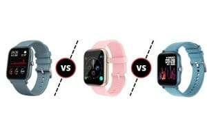 Smartwatch Colmi P8 vs Colmi P9 vs Colmi P8 Plus