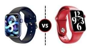 Comparativa Smartwatch FK99 Plus VS M26 Plus