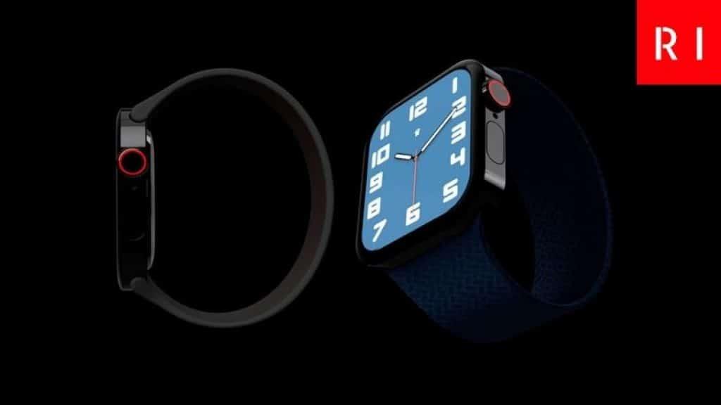 Apple Watch Series 7 de lado