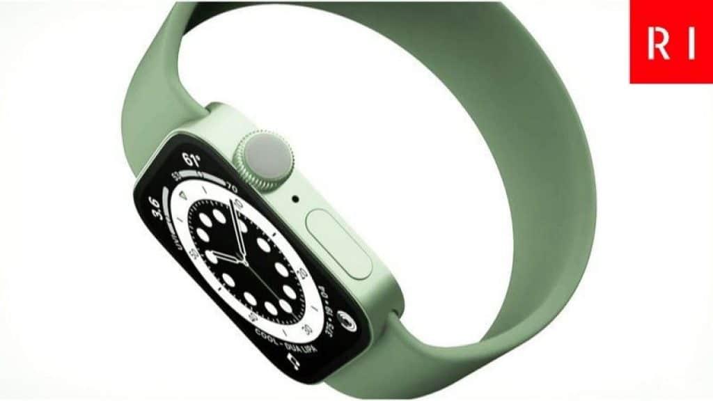 Nuevo Apple Watch Series 7 Verde