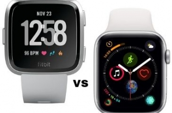 Apple Watch Series 4 VS Fitbit Versa: ¿Cuál Debería Comprar?