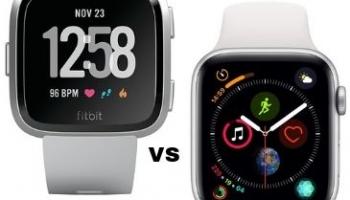 Apple Watch Series 4 VS Fitbit Versa: ¿Cuál Debería Comprar?