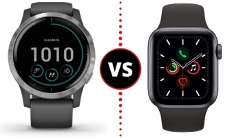 Garmin Vivoactive 4 VS Apple Watch Series 5