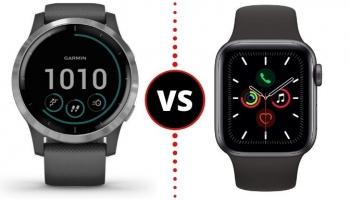 Garmin Vivoactive 4 VS Apple Watch Series 5